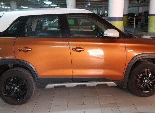 Used Maruti Suzuki Vitara Brezza 2018 AT for sale in Hyderabad