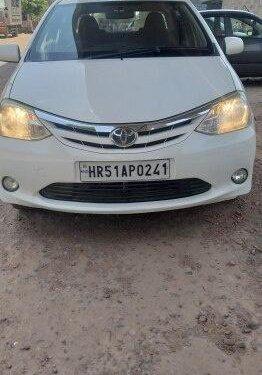 Used Toyota Platinum Etios G 2011 MT for sale in Faridabad