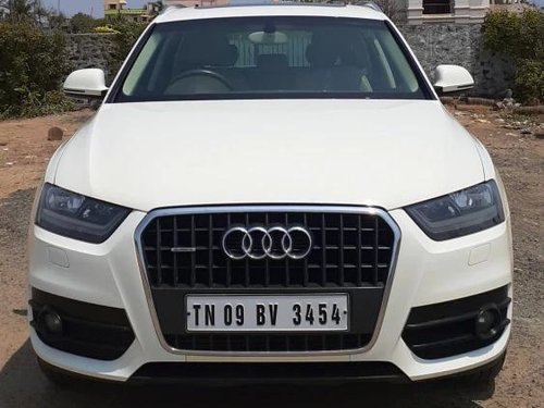 Audi Q3 2.0 TDI Quattro Premium Plus 2013 AT for sale in Chennai