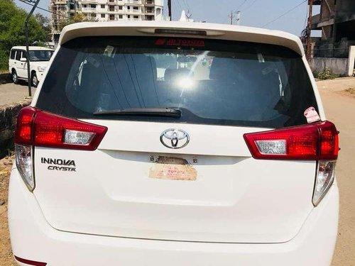 Used 2018 Toyota Innova Crysta MT for sale in Raipur