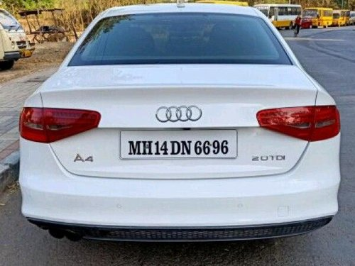 2012 Audi A4 2.0 TDI Multitronic AT for sale in Pune