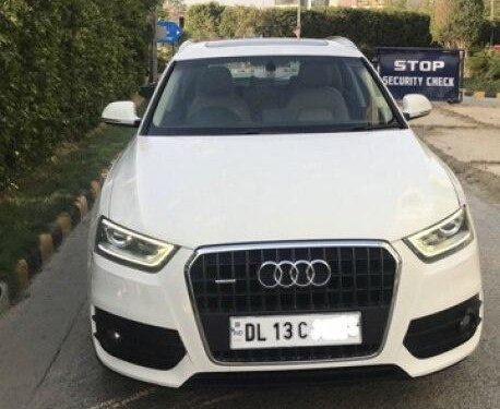 2014 Audi Q3 2012-2015 AT for sale in New Delhi-8