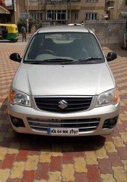 Used Maruti Suzuki Alto K10 2012 MT for sale in Bangalore