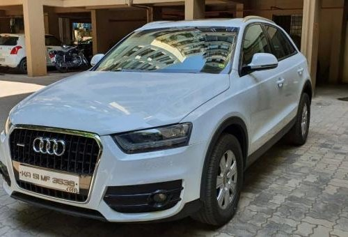 Used Audi Q3 2014 AT for sale in Bangalore