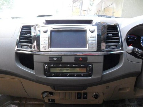 Used Toyota Fortuner 2012 MT for sale in Bangalore