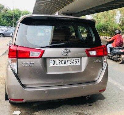 2018 Toyota Innova Crysta 2.8 ZX AT in New Delhi