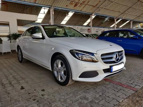 2017 Mercedes-Benz C-Class C 250 CDI Avantgarde AT for sale in Bangalore-11