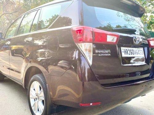 Used 2016 Toyota Innova Crysta for sale in New Delhi