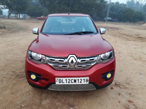 Secondhand Renault Kwid 2017 in Gurgaon - Great Condition