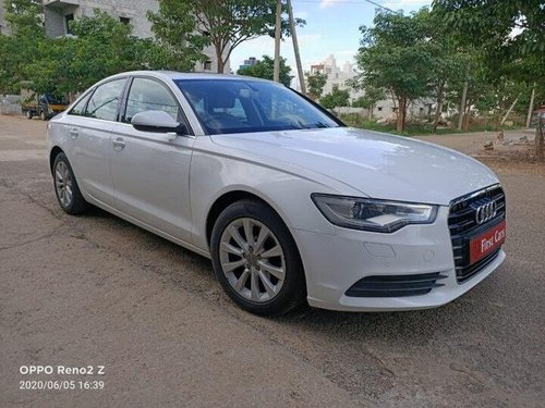 Audi A6 2.0 TDI Technology 2012 AT for sale in Bangalore