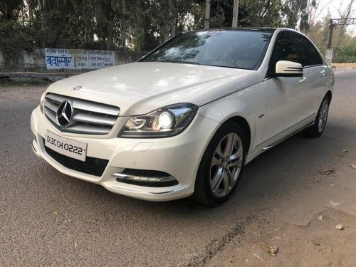 Used Mercedes-Benz C-Class 2012 AT for sale in New Delhi