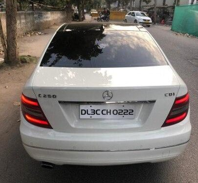 Used Mercedes-Benz C-Class 2012 AT for sale in New Delhi -12