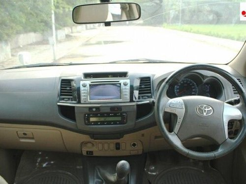 Used 2013 Toyota Fortuner 4x2 Manual MT for sale in Ahmedabad