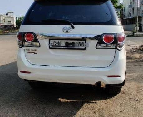 Used 2015 Toyota Fortuner AT for sale in Ahmedabad