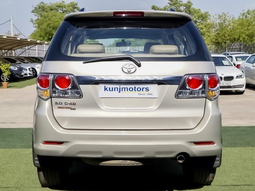 Used 2012 Toyota Fortuner 3.0 4x4 MT