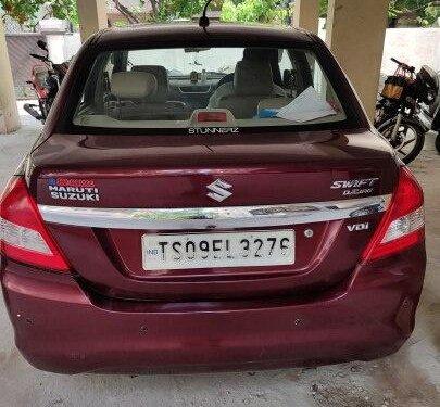 Maruti Suzuki Dzire VDI 2016 MT for sale in Hyderabad