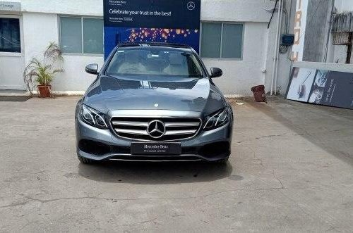 Mercedes Benz E Class E 200 2017 AT for sale in Mumbai