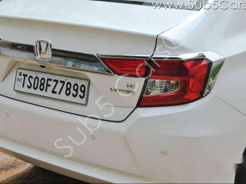 Used 2018 Honda Amaze MT for sale in Hyderabad