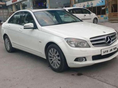 Used Mercedes Benz C-Class 2011 AT for sale in Hyderabad