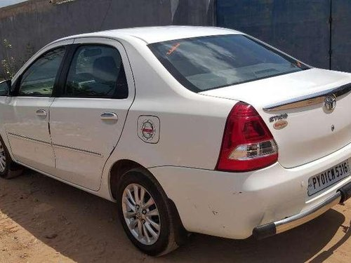 Used Toyota Etios 2016 MT for sale in Pondicherry