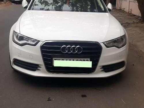 Used Audi A6 2.0 TDi 2014 AT for sale in Chennai