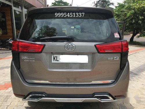 Used Toyota INNOVA CRYSTA 2018 AT for sale in Kozhikode
