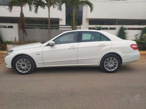 Used Mercedes-Benz E-Class 2011 AT for sale in Hyderabad