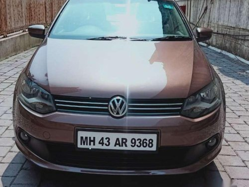 Used Volkswagen Vento, 2015, Petrol MT for sale in Thane