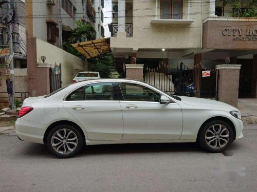 Used Mercedes-Benz C-Class 2016 AT for sale in Hyderabad