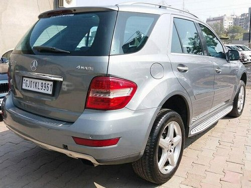 Used 2010 Mercedes Benz M Class AT for sale in Ahmedabad