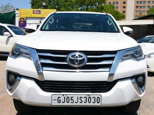 Used Toyota Fortuner 2017 MT for sale in Ahmedabad