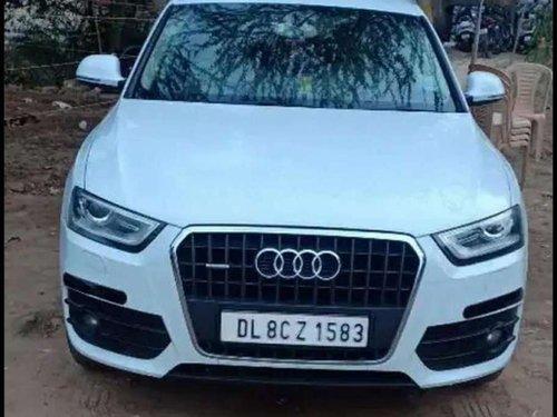 Used Audi Q3 2.0 TDI Quattro 2013 AT for sale in Gurgaon