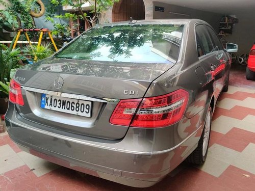 Used 2012 Mercedes Benz E Class MT for sale in Bangalore
