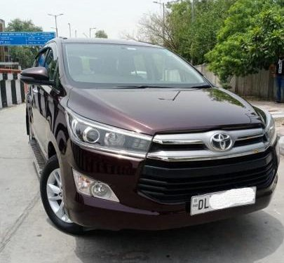 Used 2018 Toyota Innova Crysta MT for sale in New Delhi