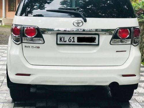 Used Toyota Fortuner 2015 AT for sale in Kottayam