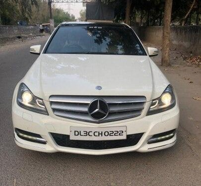 Used 2012 Mercedes Benz C-Class AT for sale in New Delhi