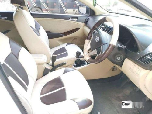 Used Hyundai Fluidic Verna 2012 MT for sale in Hyderabad