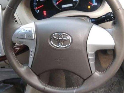 Used 2012 Toyota Innova Crysta MT for sale in Jaipur
