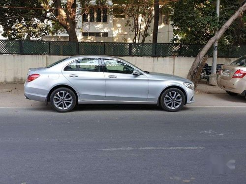 Used Mercedes Benz C-Class 2017 AT for sale in Chennai