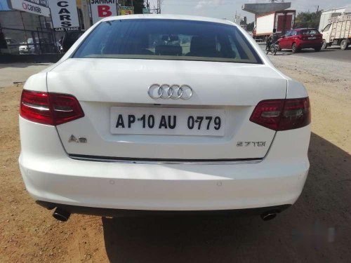Used Audi A6 2.7 TDI 2009 AT for sale in Hyderabad