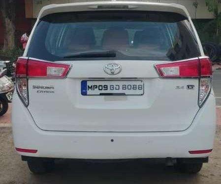 Used Toyota Innova Crysta 2017 AT for sale in Jabalpur