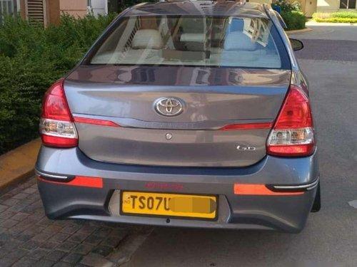Toyota Etios GD, 2018, Diesel MT for sale in Hyderabad