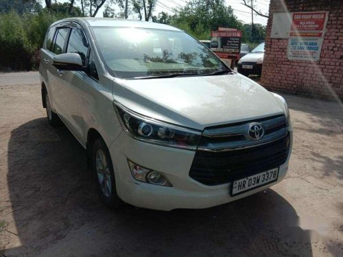 Used 2017 Toyota Innova Crysta MT for sale in Chandigarh