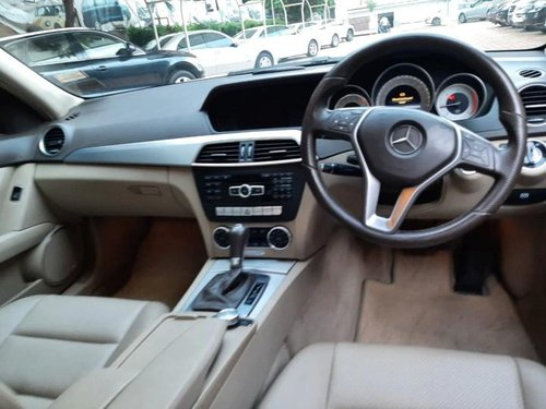 Used Mercedes Benz C-Class 2013 AT for sale in Hyderabad