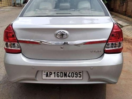 Used Toyota Etios 2017 MT for sale in Ongole