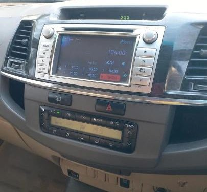 Used Toyota Fortuner 2012 AT for sale in Ahmedabad
