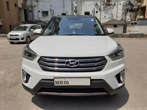 Hyundai Creta 1.6 VTVT SX Plus Dual Tone 2017 MT for sale in Thane-12