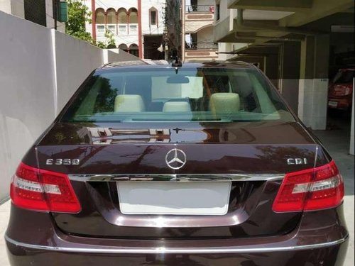 2011 Mercedes Benz E Class AT for sale in Hyderabad