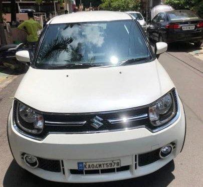 Used 2017 Maruti Suzuki Ignis AT for sale in Bangalore