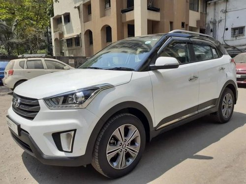 Hyundai Creta 1.6 VTVT SX Plus Dual Tone 2017 MT for sale in Thane-8